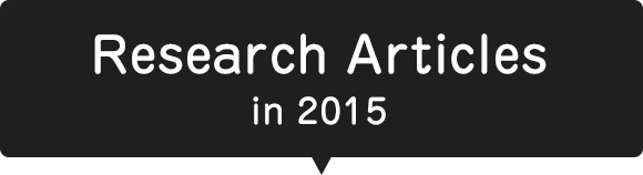 Research Articles in 2015